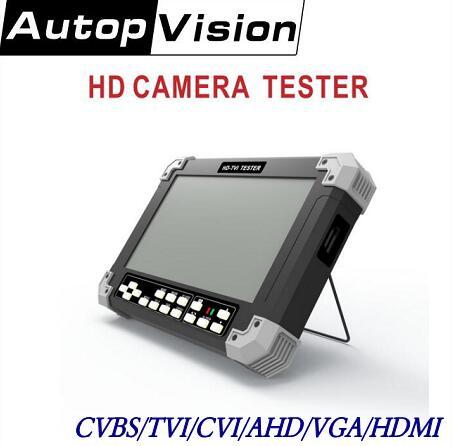 NEW 7Inch X42TAC Cctv Camera Tester 6-in-1 Support CVBS TVI CVI AHD VGA HDMI Cctv Tester 12V/0.8A Ouput