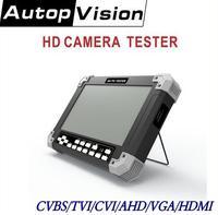 NEW 7Inch X42TAC cctv camera tester 6 in 1 support CVBS TVI CVI AHD VGA HDMI cctv tester 12V/0.8A ouput