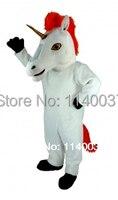 MASCOT Unicorn Mascot Costume Cartoon Character carnival costume fancy Costume party