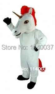 Mascotte licorne mascotte Costume personnage de dessin animé carnaval costume fantaisie fête