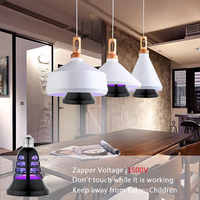 Mosquito Light Mosquito Bulb Electric Voiceless LED Light 2in1 Delicate Electric Fly Zapper Fashion Flying Insects