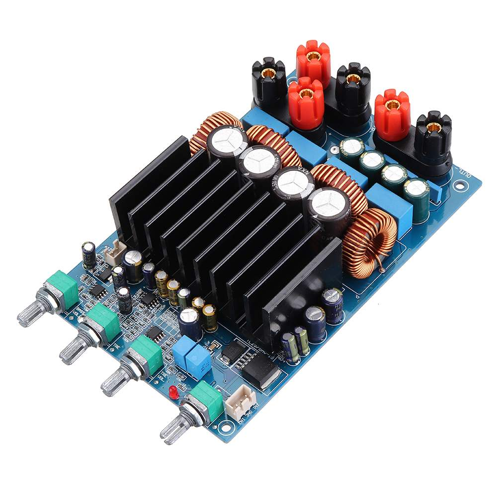 LEORY TAS5630 300W+150W*2 2.1 Digital Power Amplifier Board Class D Subwoofer Amplifier  20Hz to 20KHz Chips NEWLEORY TAS5630 300W+150W*2 2.1 Digital Power Amplifier Board Class D Subwoofer Amplifier  20Hz to 20KHz Chips NEW