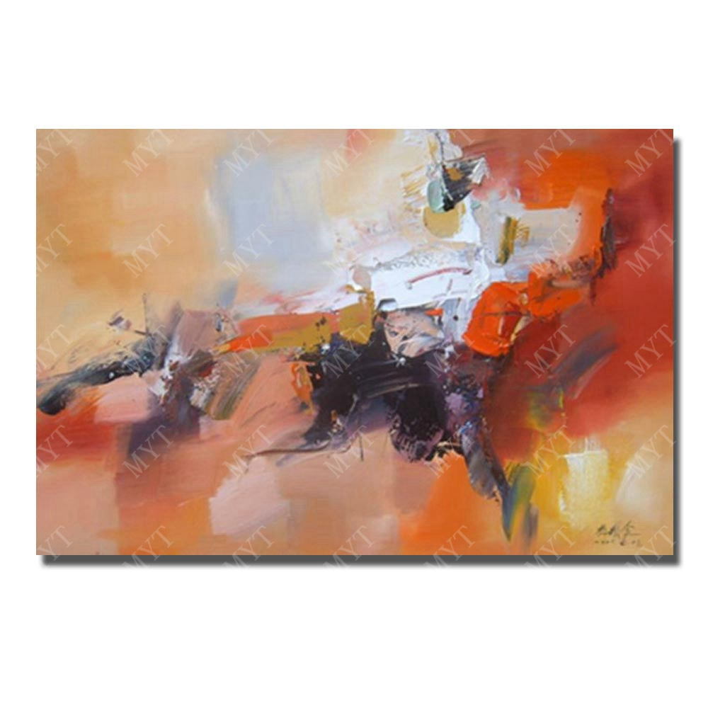 abstract canvas wall art ᗚHand paint modern abstract canvas wall art painting hanging  abstract canvas wall art
