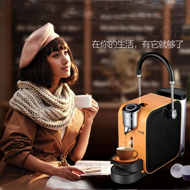 Household Fully Automatic Italian Capsule Coffee Coffee Machine Constant Temperature 45 Seconds 20Bar household fully automatic coffee maker cup portable mini burr coffee makers cup usb rechargeable capsule coffee machine