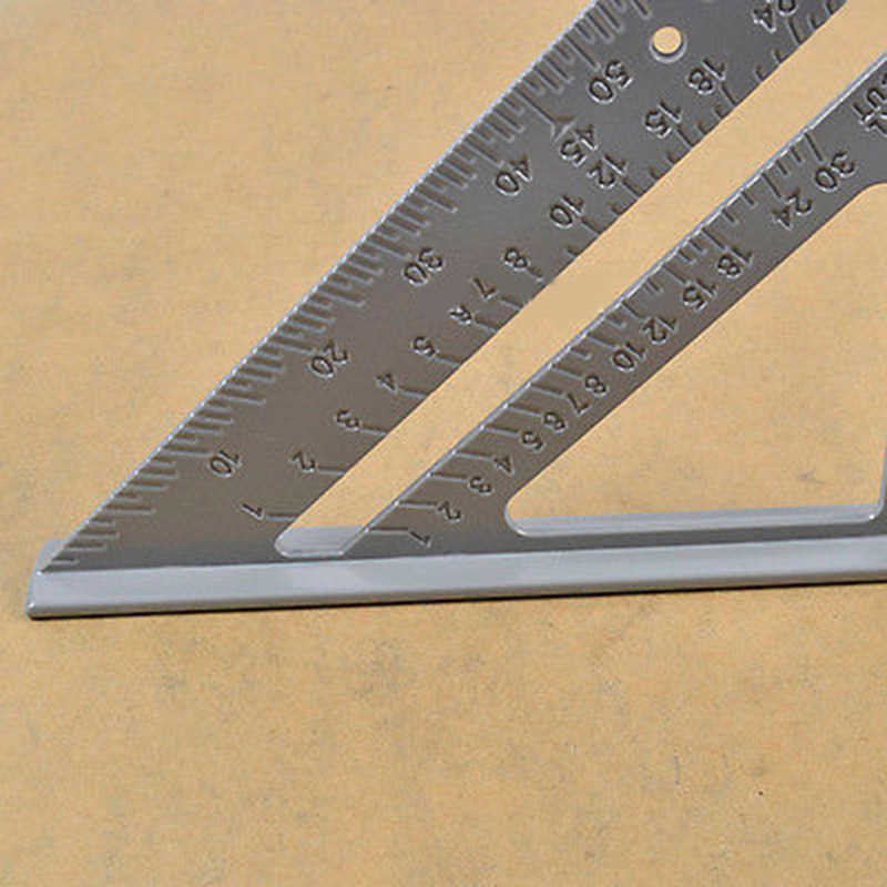 "7"" Alloy Square Protractor Miter Framing Ruler Carpenter Measuring Tool DIY Craft Supplies Measurement"