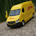 RMZ City 1:36 Mercedes-Benz DHL Diecasts Alloy Model Car Toy  Hot Wheels Cars Kids Toys for Children Machines Toys for Boys