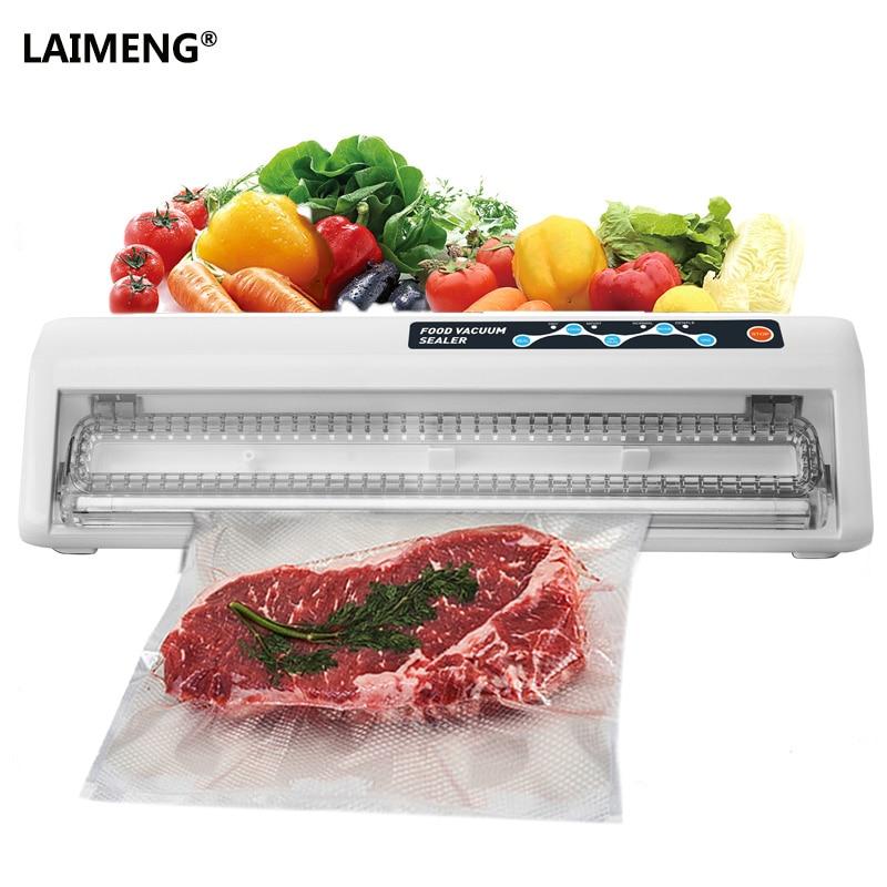 LAIMENG Mini Vacuum Sealer Packing Machine Fast Vacuum Food Sealing Machine with Vacuum Bags for Food