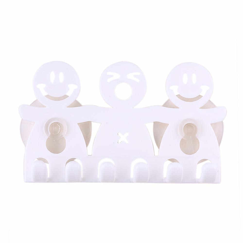 Zestawy łazienkowe śliczne plastikowe Cartoon Sucker szczoteczka do zębów uchwyt/przyssawki 5 pozycja szczotka do zębów uchwyt #25