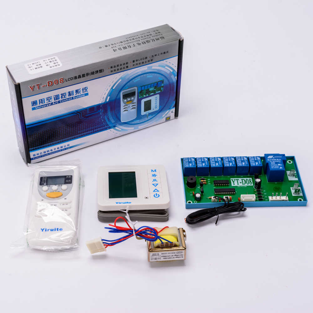 general smart LCD screen air conditioning remote control