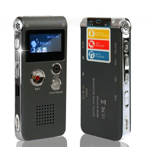 Image 2 - DN006 Digital Voice Recorder Telephone Audio Recorder MP3 Player Dictaphone 609 Built in 8GB