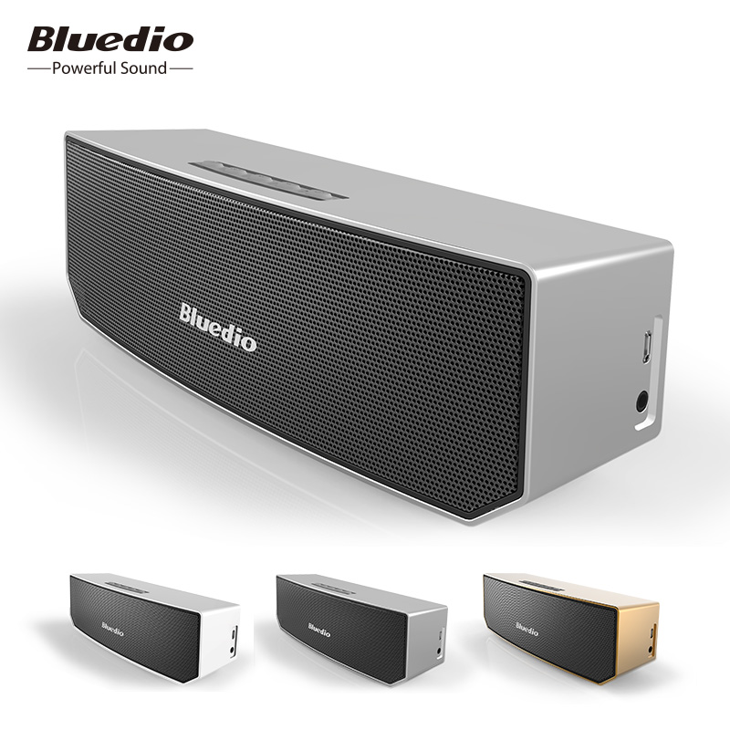 Bluedio BS-3 Mini Sistema de Som 3D Música estéreo Sem Fio Bluetooth Speaker portátil altifalantes