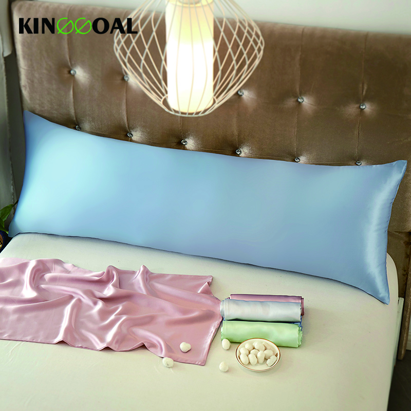 Free Shippng Both Sides 100% Mulberry Silk Pillow Cases