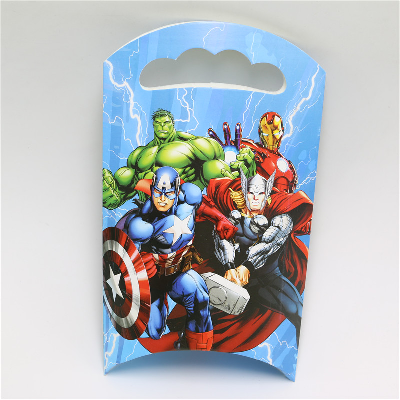 Movie Avengers Allience 10pcs Lot Goody Bag Boys Party Gift Birthday Decorations Kids Candy Box S Favor Suppliers On Aliexpress Alibaba