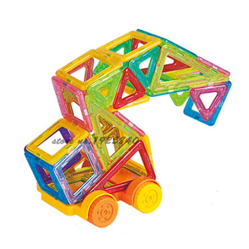 Magnetic Blocks Toys For Kids MINI 130PCS Magnetic Designer Construction Set Model & Building Toy  Children Educational Toys 86pcs mini magnetic toy construction set educational model building diy kits magnetic designer blocks toys for children