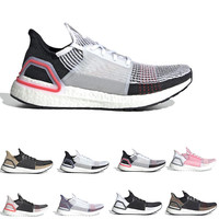 Ultra boost 2019 Ultraboost mens Running shoes Refract Clear Brown Primeknit sports trainers men women sneakers