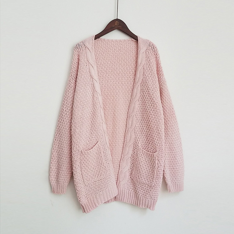 OMCHION Pull Femme 2017 Autumn Pink Sweater Women Long Sleeve Big ...