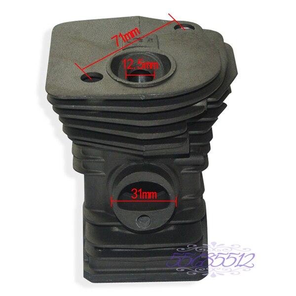 Tools : 42mm Cylinder  amp  Piston W  Rings Kit Fits Husqvarna 340 345 Chainsaw 503 87 02 76