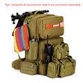55L Grande Capacidade Homens Mochila Militar Bolsa de Viagem À Prova D' Água Balde Nylon Bagpack Mochilas Masculina Y105