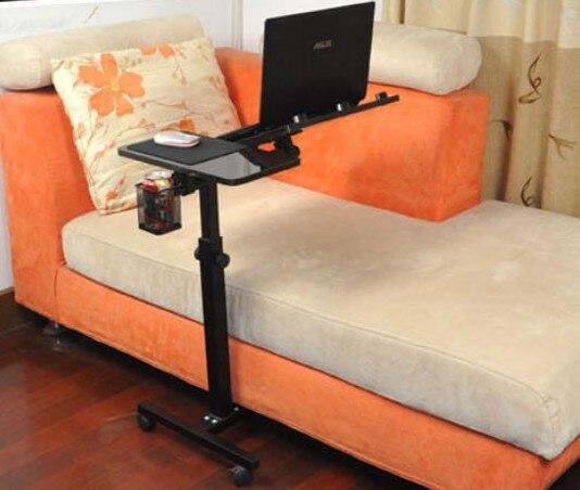 im bett mit einem laptop stand boden drehtisch halterung faul computer notebook in im bett mit. Black Bedroom Furniture Sets. Home Design Ideas