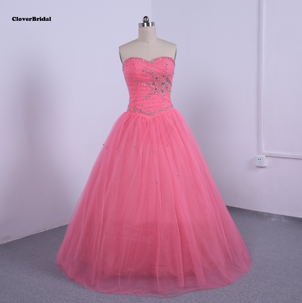 Sparkly sequins stones beaded pleated cheap quinceanera gowns sweetheart corset back flowing tulle skirt under 60