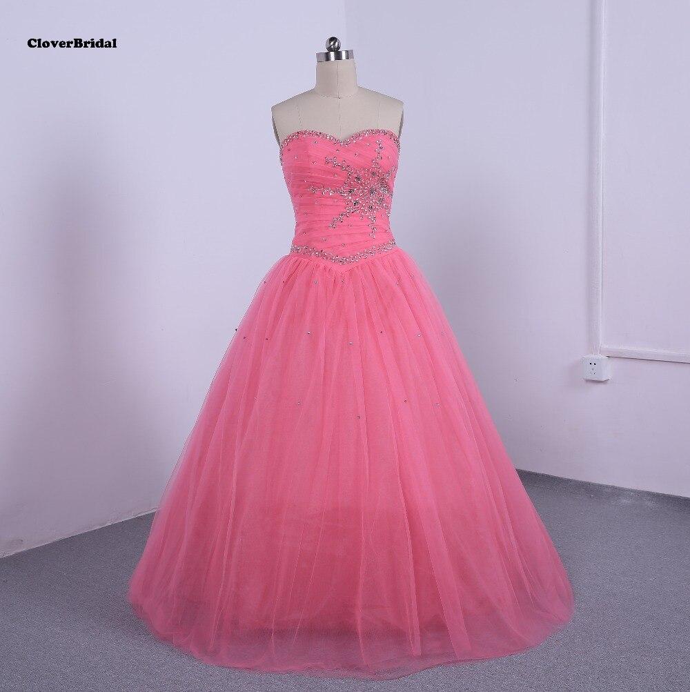 Sparkly lentejuelas piedras plisado moldeado quinceanera vestidos ...