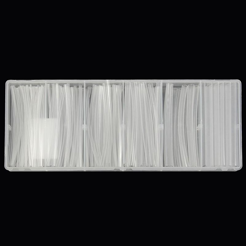 Sleeving Wrap-Tubes Tubing Clear Shrink Tube-Assortment Polyolefin For 150pcs/Set 2:1