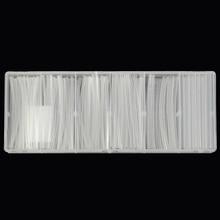 150 шт./компл. Полиолефиновый 2:1 безгалогеновый термоусадочные трубки ассортимент sleeving Обёрточная бумага трубы Ясно для Обёрточная бумага Провода комплект