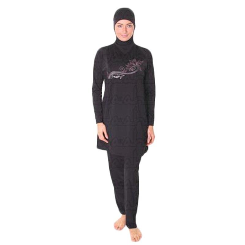Maillot de bain femme maillot de bain maillot de bain musulman pour - Vêtements nationaux - Photo 4