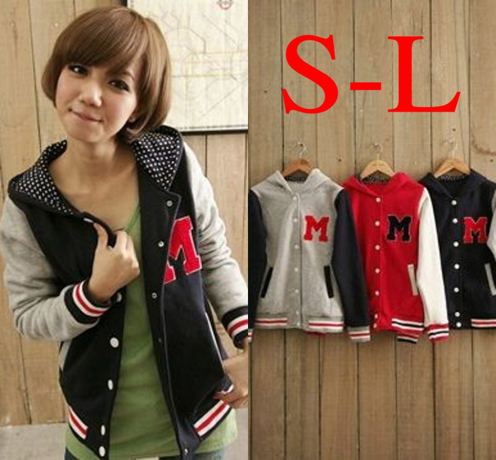 Aliexpress.com : Buy Autumn and Winter Letter M Varsity Jacket ...