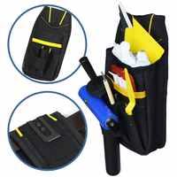 Bolsa de herramientas de vinilo profesional para coche EHDIS bolsa de tela Oxford bolsa de cinturón organizador de cinturón herramientas de tinte duradero bolsas de utilidad