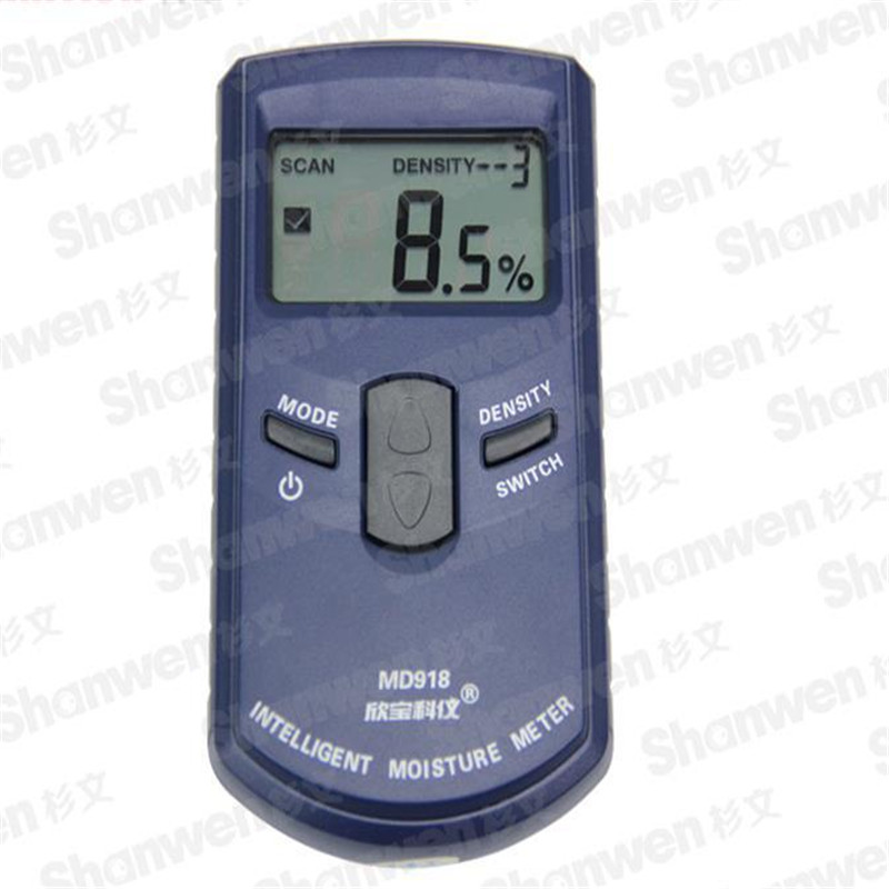 Inductive Wood Tree Timber Digital Moisture Meter with bag MD918 4 80 Resolution 0 5 MD