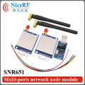 2pcs/pack  500mW 433MHz TTL Interface RF Transmitter And Receiver SNR651+2pcs Antennas+2pcs USB Brigde board