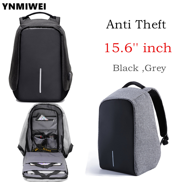 Ynmiwei Anti Thief 15 6 Inch Laptop Bag Usb Charge Men Women Notebook Macbook Pro
