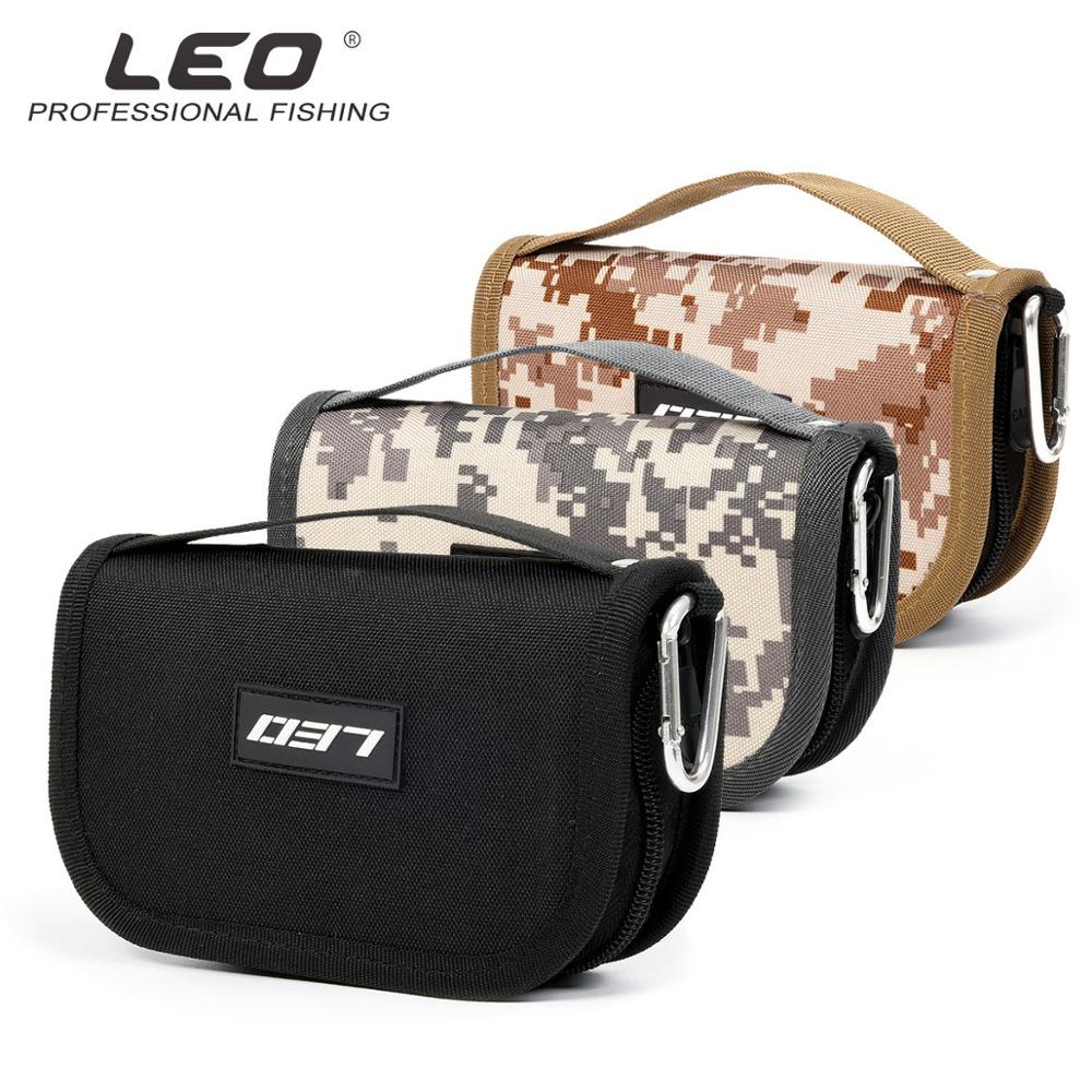 Portable Fishing Bag Fishing Lure Container Bag For Spoon Lure Large Capacity Canvas Zipper Storage Case Fishing Tackle