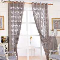 Top Finel 2016 Grey Luxury Jacquard Tulle Sheer Window Curtains For Living Room The Bedroom Embroidered