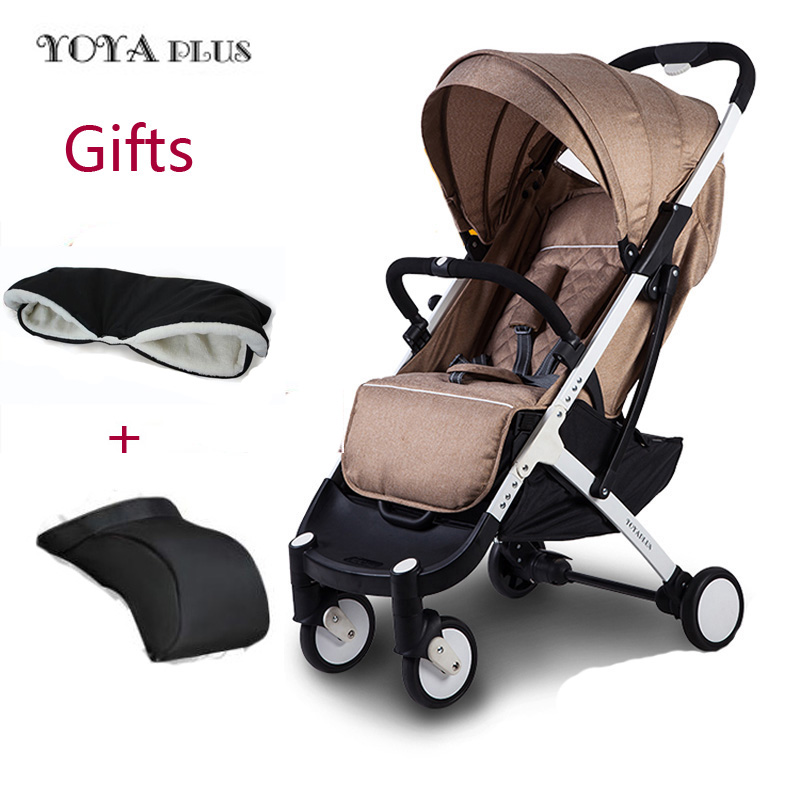 YOYAPLUS yoya baby strollers 2 in 1 ultra-lightweight folding can sit lie high umbrella baby trolley airplane car plus carriages