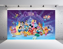 SHENGYONGBAO Vinyl Custom Photography Backdrops Cartoon theme Photo Studio Props horizontal Background SS-00049