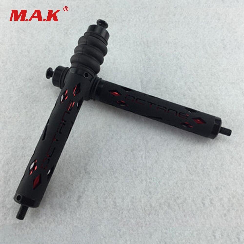 Accessoires d'arc en aluminium de stabilisateur d'arc composé de tir à l'arc de 7 pouces pour le tir composé de chasse d'arc