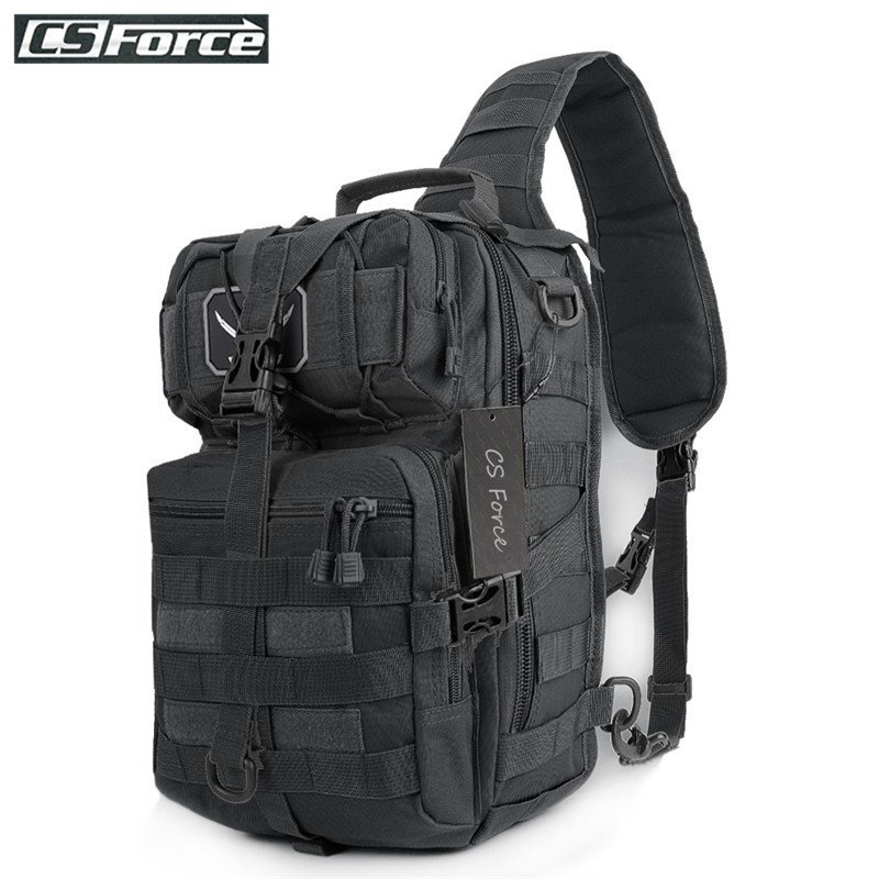 Military Tactical Assault Pack Backpack Army Molle Waterproof Shoulder Bags Small Rucksack for Outdoor Hiking Camping Hunting|Climbing Bags| |  - title=