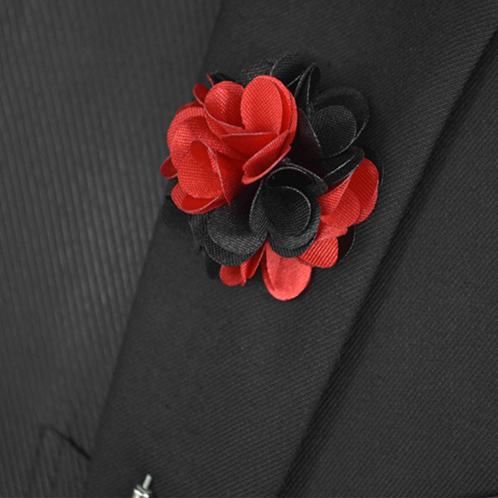 Aliexpress com buy mdiger men lapel flower pin brooches for suits multi color men wedding flower corsage jacket lapel pin brooches for men suits from