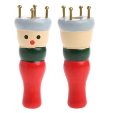 1Pc Wooden Yarn Wool Knit Knitter Knitting Doll Dolly Craft Loom Maker DIY Color Random