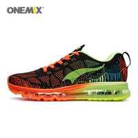 Onemix Men's Sport Running Shoes Sneakers Breathable Mesh Outdoor Athletic Shoe Light Male Shoe Jogging sneakers Size EU 39 47
