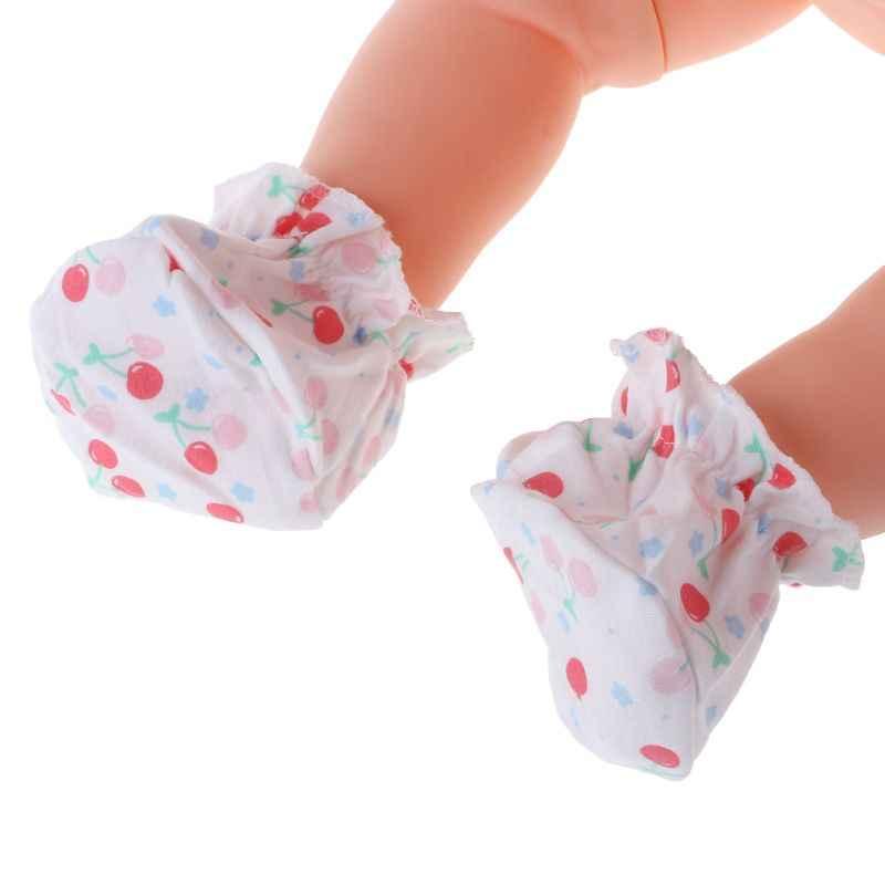 1 paar Baby Socken Spaziergang Ausbildung Abdeckung Fuß Schutz Cartoon Drucken Newborn Pflege
