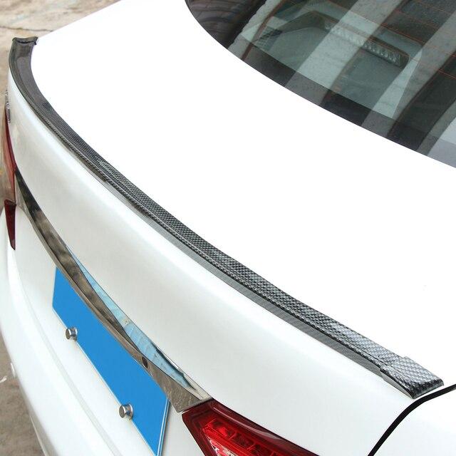 Us 1443 26 Offcarbon Trunk Oder Dachspoilerlippe Oder Dachspoiler Body Kit Trim Aufkleber Für Volkswagen Vw Passat B6 B7 B8 Jetta Cc Bora In