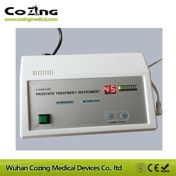 Healthcare product prostate physiotherapy massager device noninvastive thermal therapy device for urine pain
