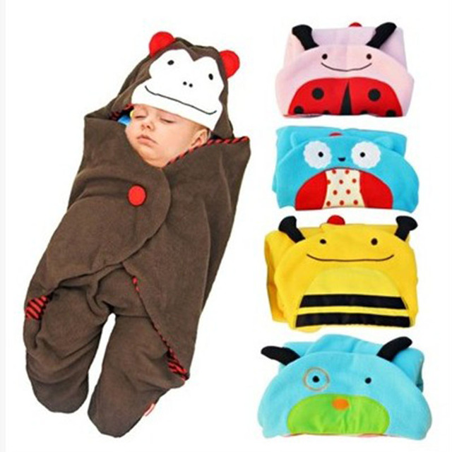 78*78 cm  Zoo Cartoon sleeping bag cotton Divided sleeping bag