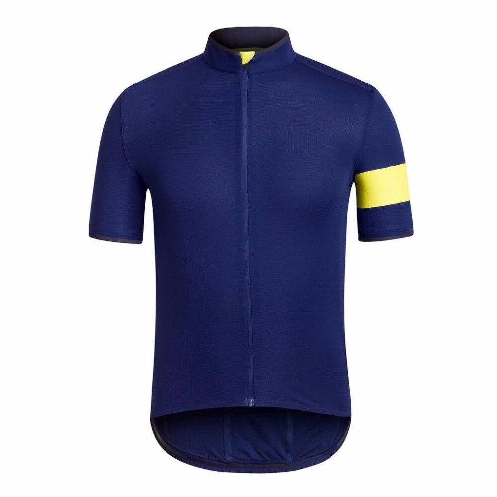 Prix pour Haute qualité 2017 HOMMES VÉLO CLUB PRO ÉQUIPE JERSEY court manches route VTT cyclisme porter vélo vêtements vélo vitesse livraison shipppin