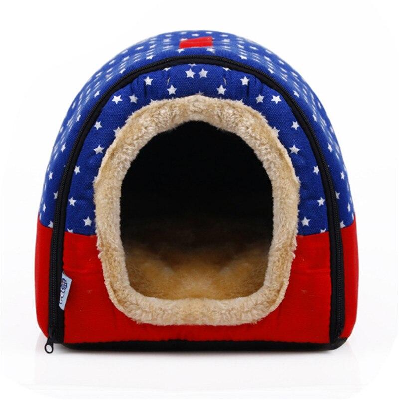 Pet Cat Igloo кроватка для небольшой собаки мягкая кровать Met дом Водонепроницаемый покрытый 1 шт. (S, M, L, XL)