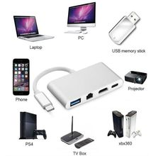 Type C 3 1 to HDMI 4K Gigabit Ethernet RJ45 1000M With PD USB3 0 HUB Converter cheap Male-Male TYPE-C Type-C Cables Multimedia Polybag Combination Bundle 1 HDMI2 0 MLLSE