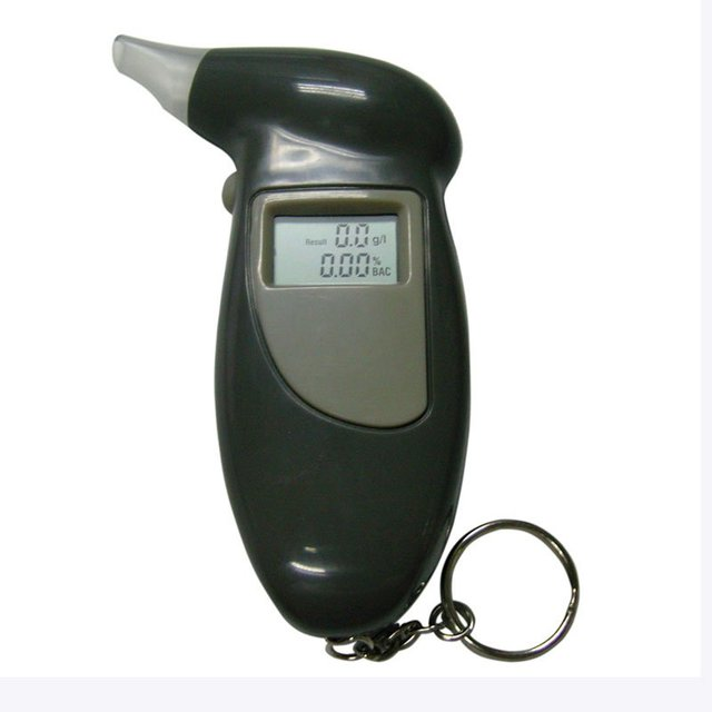 LCD Digital Alcohol Breath Tester Analyzer Breathalyzer CE FCC RoHS, 5 pcs/lot, free shipping.